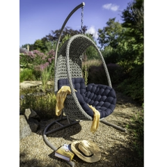 Hartman Heritage Single Hanging Chair Ash/Slate