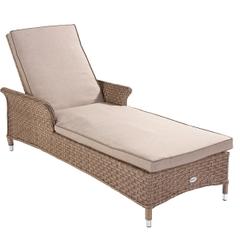 Hartman Heritage Lounger w/cushion Bark/Sand
