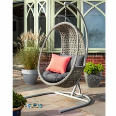Hartman Heritage Hanging Chair Single Ash Slate