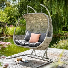 Hartman Heritage Double Hanging Chair Ash/Slate