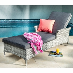 Hartman Heritage Lounger with Cushion Ash/Slate