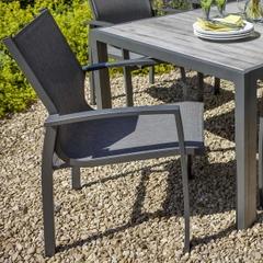 Hartman Georgia Dining Chair - Platinum/Dusk