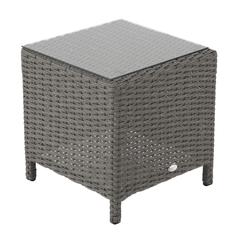 Hartman Madison/Appleton Side Table - Slate (Grey Rattan)