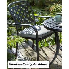 Hartman Berkeley Armchair with Weatherready Cushion Midnight/Shadow