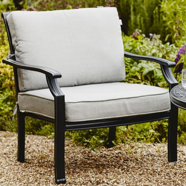 hartman jamie oliver chill out chair riven with pewter silver cushions 68773031 garden. Black Bedroom Furniture Sets. Home Design Ideas