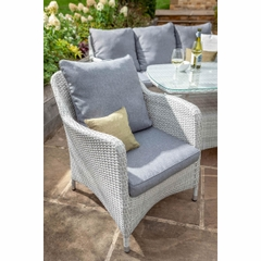 Hartman Curve Lounge Chair w/Cushion Cool Grey/Charcoal