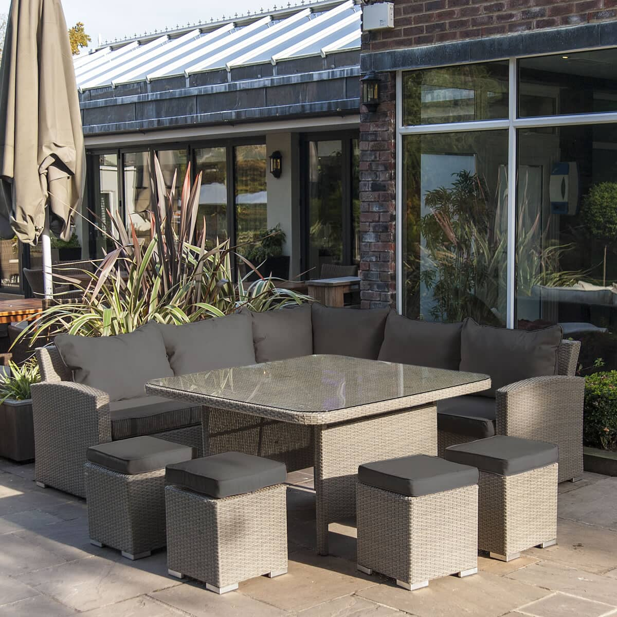 Alexander Rose Bespoke Casual Dining Set 7721sla Garden Furniture World