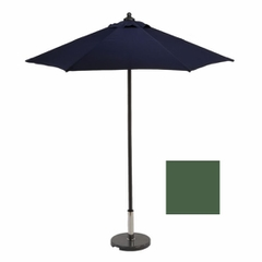 2m Sturdi+ Aluminium Push Up Parasol Green