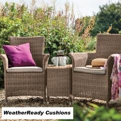 Hartman Appleton Duet Set Weatherready Cushions Bark/Sand