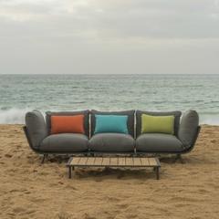 Alexander Rose Beach Lounge 3 Seat Sofa Lounge Set