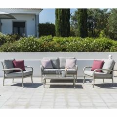 Alexander Rose Ocean Pearl Outdoor Rattan Sofa Set
