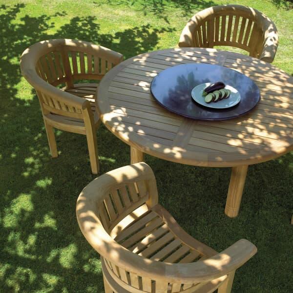 bramblecrest banana 4 seat set bbanset01 garden. Black Bedroom Furniture Sets. Home Design Ideas