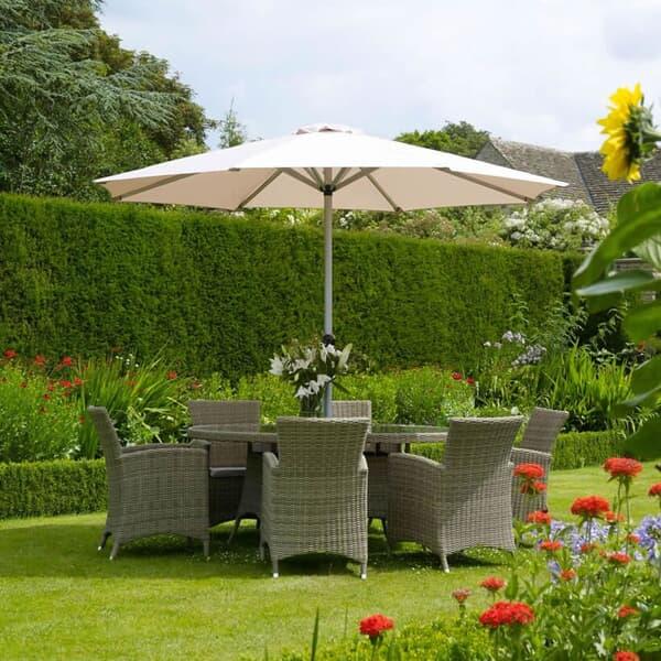 bramblecrest cotswold oval 6 seat set bcotsb garden. Black Bedroom Furniture Sets. Home Design Ideas