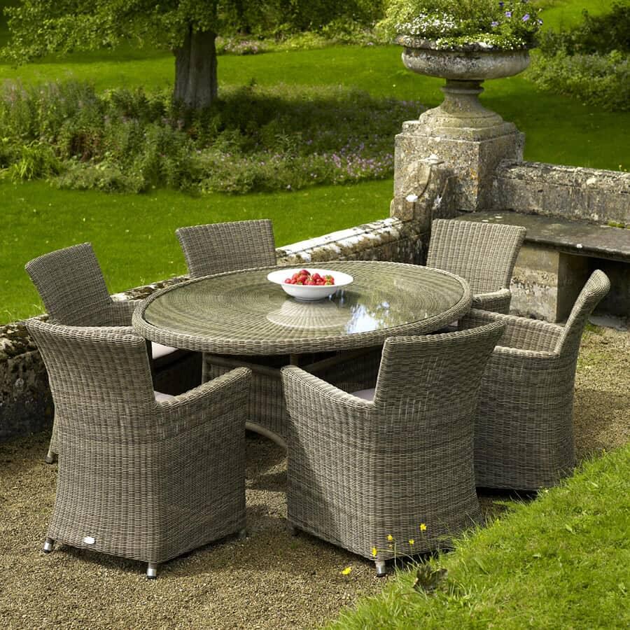 bramblecrest sahara 6 armchair elliptical set bsahset09. Black Bedroom Furniture Sets. Home Design Ideas