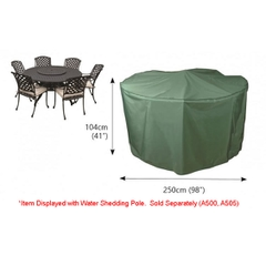 Bosmere Circular Patio Set Cover - 6/8 seat