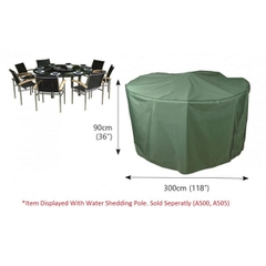 Bosmere Circular Patio Set Cover - 8 seat