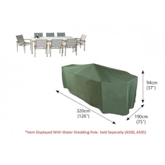 Bosmere Rectangular Patio Set Cover - 8/10 seat