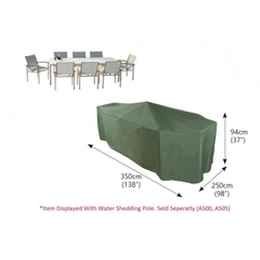 Bosmere Rectangular Patio Set Cover - 10 seat