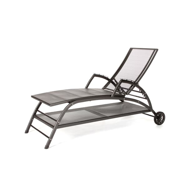 Kettler Steel Mesh Easy Lounger C68430200 Garden
