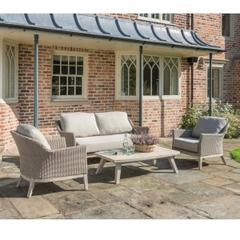 Kettler Cora Wicker - 2 Seat Sofa Lounge Set
