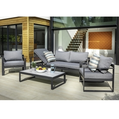 Hartman Vienna 3 Seat Lounge Set with Integrated Lounger