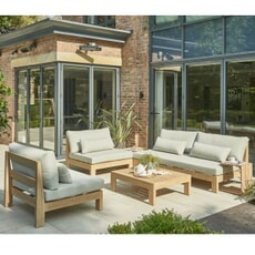 Kettler Beach Wood Low Lounge Set