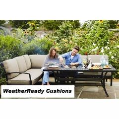 Hartman Jamie Oliver Contemporary Cosy Corner Weatherready Cushions Bronze/Biscuit