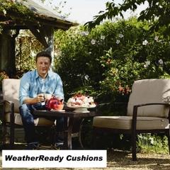Hartman Jamie Oliver Coffee Set Weatherready Cushions Bronze/Biscuit