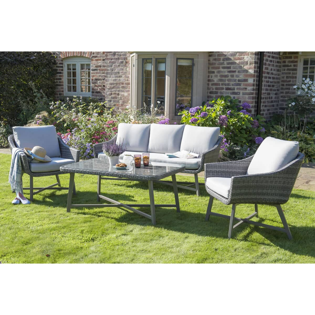 Kettler Lamode Large Lounge Set Klamoset03 Garden