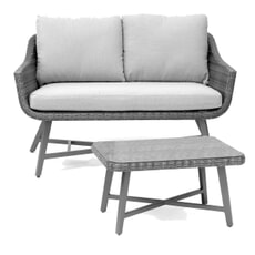 Kettler LaMode 2 Seat Sofa With Table