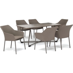 Kettler Manhattan Wrap 6 Seat Set Taupe