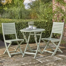 Kettler RHS Rosemoor Bistro Set with Folding Chairs