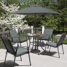 Kettler Siena 4 Seat Square Garden Furniture Set