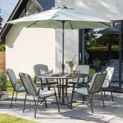 Kettler Siena 6 Seat Round Set