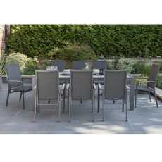 Kettler Surf Active - 8 Seat Multi Position Dining Chair Set