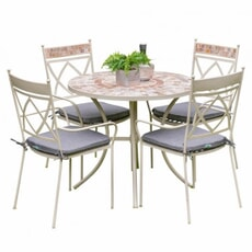 LG Outdoor Morocco 4 Seat Dining Set