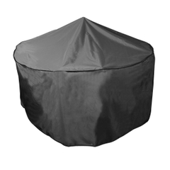 Bosmere Circular Patio Set Cover - 6/8 Seat - Black