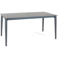 Kettler Menos 160 x 90cm Grey Aluminium Table
