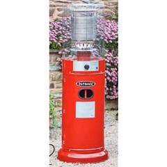 Outback New Jupiter Short Patio Heater - Red