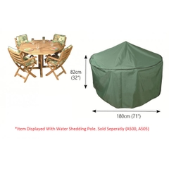 Bosmere Circular Patio Set Cover 4 Seat