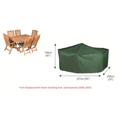 Bosmere Rectangular Patio Set Cover 6 Seat