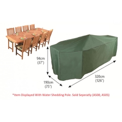 Bosmere Rectangular Patio Set Cover 8/10 Seat