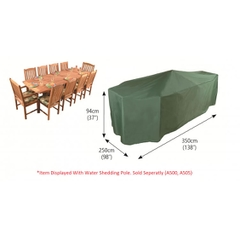 Bosmere Rectangular Patio Set Cover 10 Seat