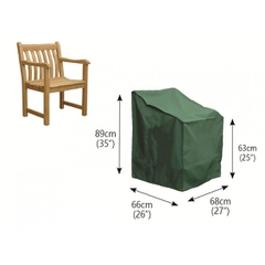 Bosmere Wooden Armchair Cover