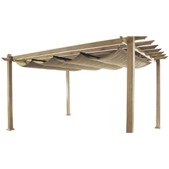 Hartman Napoli Pergola 3m x 3m Light Oak