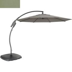 Kettler 3m Free Arm Parasol Sage Canopy/Grey