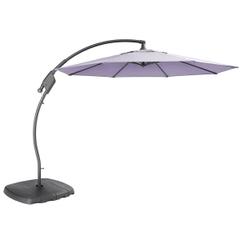 Kettler 3m Free Arm Parasol Wisteria Canopy/Grey