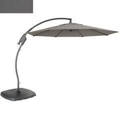 Kettler 3m Free Arm Parasol Slate Canopy/Grey