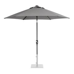Kettler 2.5m Wind Up Parasol with tilt - Grey frame and Slate Canopy