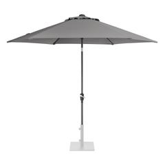 Kettler 3.0m Wind Up Parasol with tilt - Grey frame and Slate Canopy